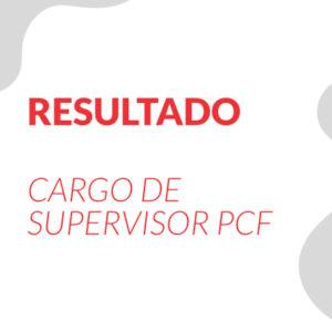 Resultado da Prova para o CARGO DE SUPERVISOR PCF conforme EDITAL DE PROCESSO SELETIVO SIMPLIFICADO EDITAL 01.2019 MIRADOURO