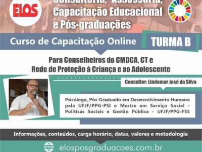 Curso de Capacitação para conselheiros do CMDCA, CT e Rede de Proteção à Criança e ao Adolescente. T-B