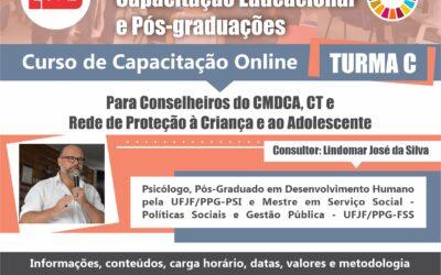 Curso de Capacitação para conselheiros do CMDCA, CT e Rede de Proteção à Criança e ao Adolescente. T- C